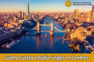 Cuanto cuesta estudiar ingles en Londres