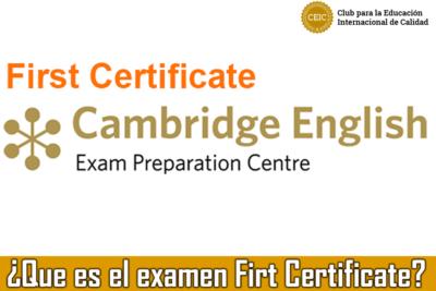 que-es-el-examen-first-certificate